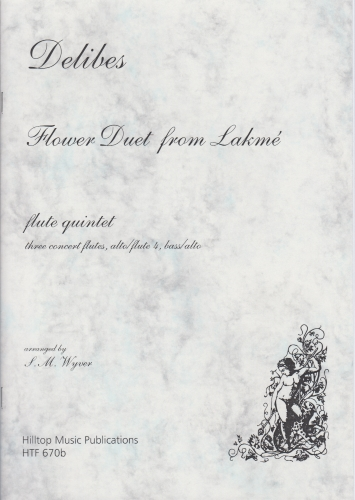 FLOWER DUET from Lakme (score & parts)