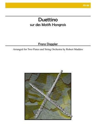 DUETTINO SUR DES MOTIFS HONGROIS, Op.36