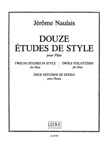 12 ETUDES DE STYLE
