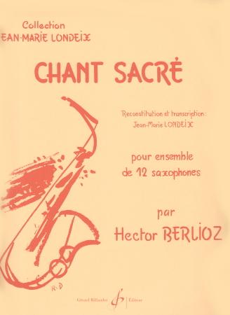 CHANT SACRE (score & parts)