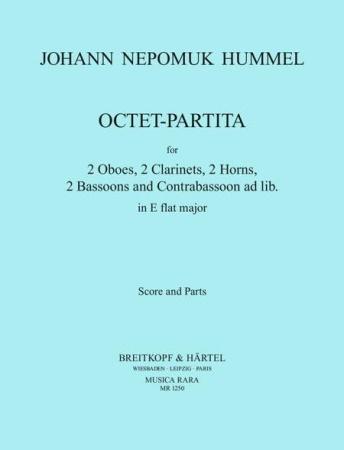 OCTET-PARTITA in Eb major (score & parts)