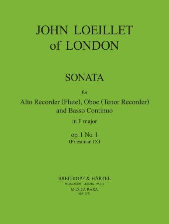 SONATA in c minor Op.1/5