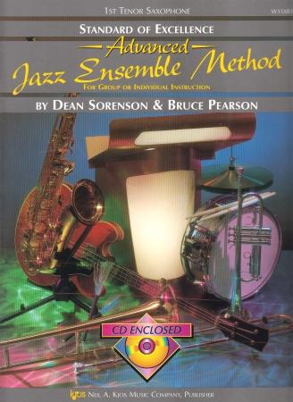 STANDARD OF EXCELLENCE Advanced Jazz Ensemble Method + CD 1st tenor sax
