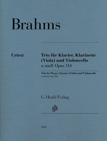 TRIO in A minor Op.114 (Urtext)