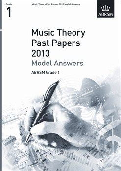 MUSIC THEORY Model Answers Grade 1 2013
