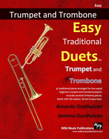 EASY TRADITIONAL DUETS for Trumpet & Trombone
