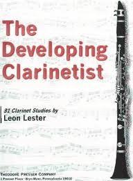 THE DEVELOPING CLARINETTIST 31 studies