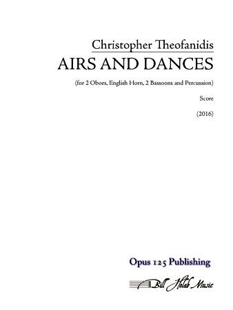 AIRS AND DANCES (score & parts)