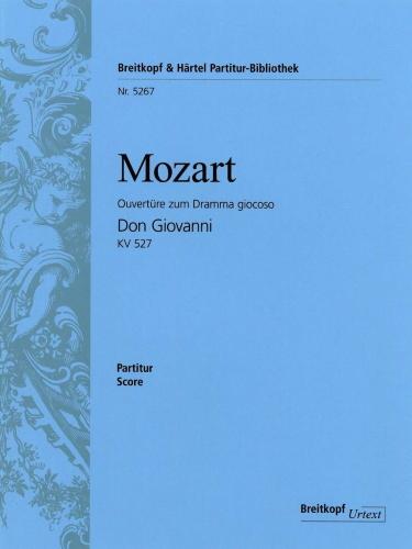 DON GIOVANNI Overture (score)
