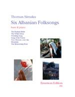 SIX ALBANIAN FOLK-SONGS
