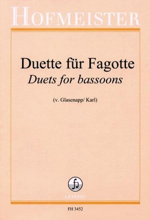 DUETS FOR BASSOONS (playing score)