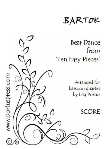 BEAR DANCE (score & parts)