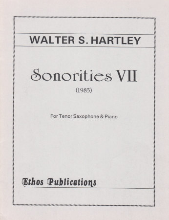 SONORITIES VII