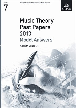 MUSIC THEORY Model Answers Grade 7 2013