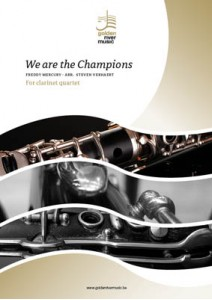 WE ARE THE CHAMPIONS score & parts