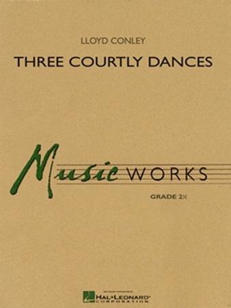 THREE COURTLY DANCES (score)