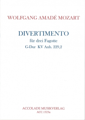 DIVERTIMENTO No.2 KV Anh.229