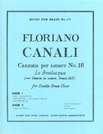 CANZONA PER SONARE No.18