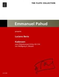 CADENZAS to Mozart's Flute Concerto in D major K314