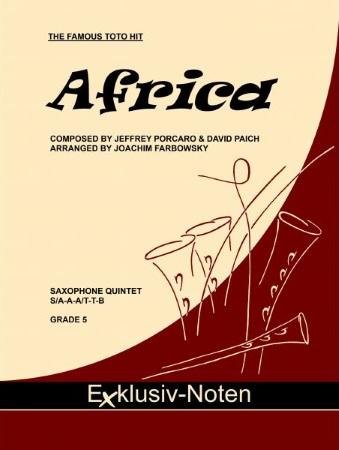 AFRICA (score & parts)