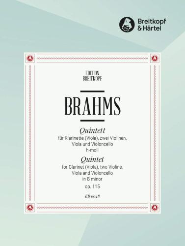 CLARINET QUINTET Op.115 (set of parts)