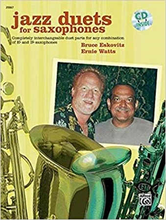 JAZZ DUETS FOR SAXOPHONES + CD