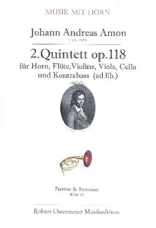 QUINTET No.2 score & parts