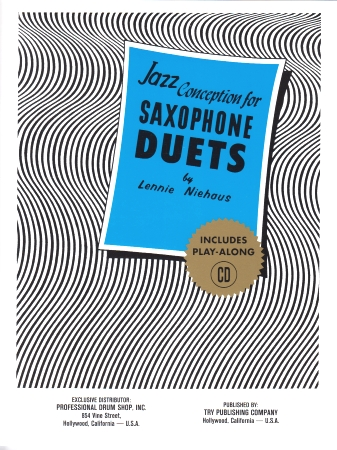 JAZZ CONCEPTION for Saxophone Duets + CD