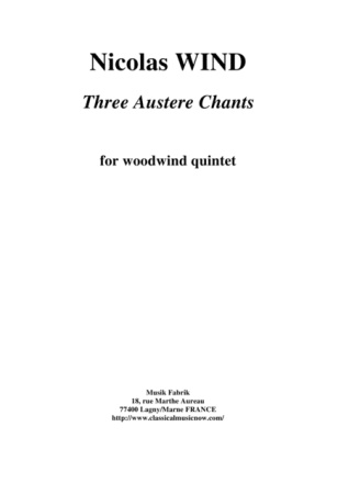 THREE AUSTERE CHANTS