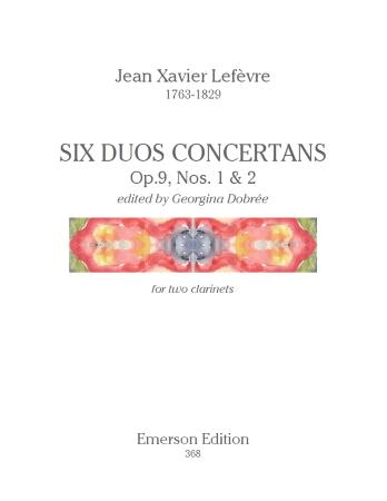 SIX DUO CONCERTANTS Op.9 Nos.1 & 2