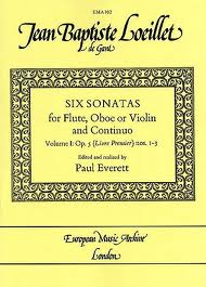 SIX SONATAS Op.5 Volume 1