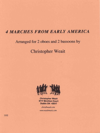 FOUR MARCHES FROM EARLY AMERICA