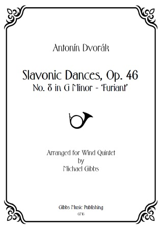 SLAVONIC DANCE Op.46 No.8 (score & parts)