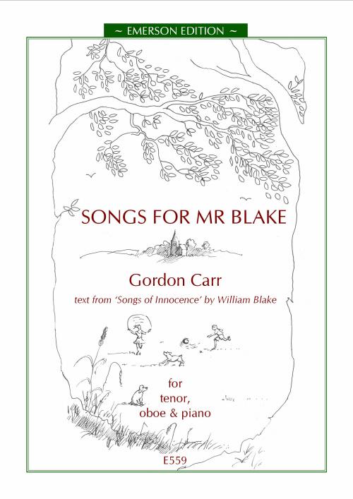 SONGS FOR MR BLAKE