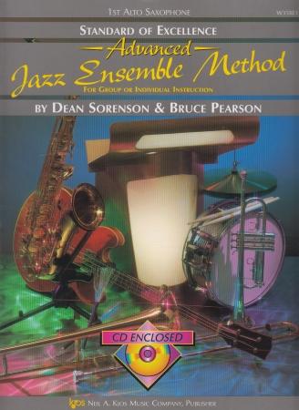 STANDARD OF EXCELLENCE Advanced Jazz Ensemble Method + CD 1st alto sax