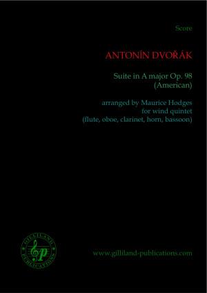 SUITE in A major Op.98, 'American' (score & parts)