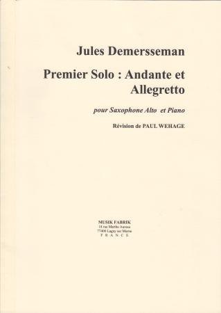 PREMIER SOLO Andante et Allegro