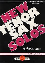 NEW TENOR SAX SOLOS Book 2 + CD