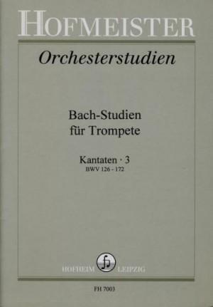 BACH-STUDIEN Cantatas Volume 3