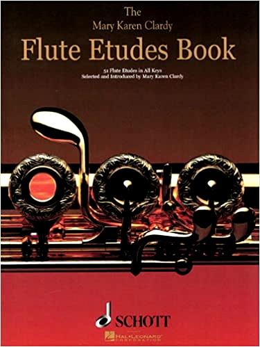 FLUTE ETUDES BOOK: 51 Etudes in All Keys