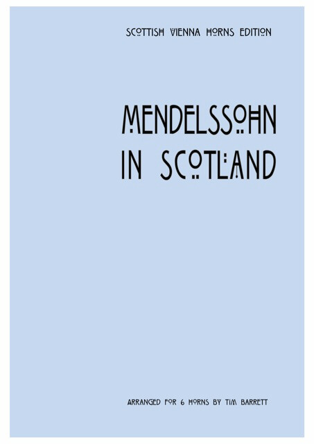 MENDELSSOHN IN SCOTLAND score & parts