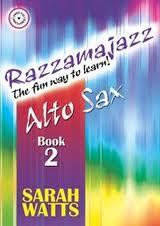 RAZZAMAJAZZ Alto Sax Book 2 + CD