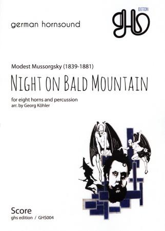 NIGHT ON A BALD MOUNTAIN (score & parts)