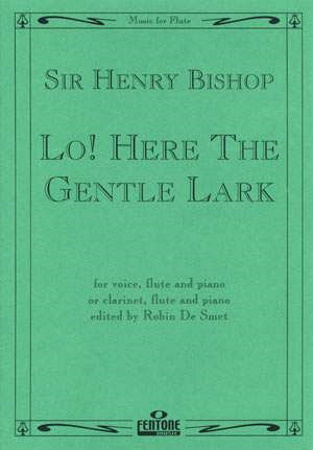LO! HERE THE GENTLE LARK