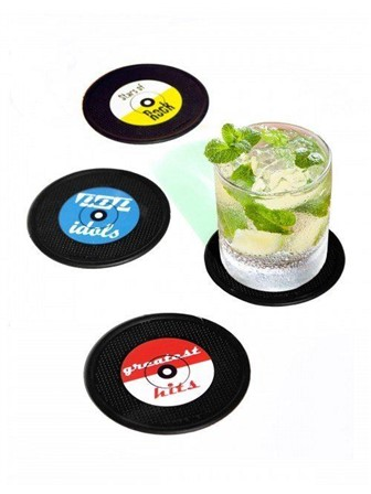 COASTERS Long Drink (Set of 4)