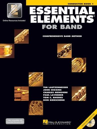 ESSENTIAL ELEMENTS Book 1 Conductor + CD/Online Resources