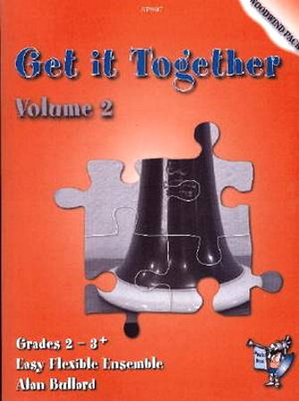 GET IT TOGETHER Volume 2 Woodwind Pack (score & parts)