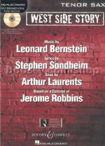 WEST SIDE STORY for Tenor Saxophone + CD