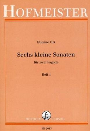SIX LITTLE SONATAS Volume 1