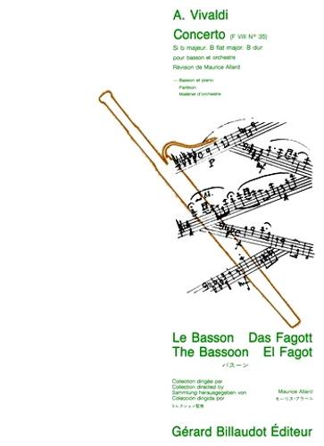 CONCERTO in Bb major FVIII No.35 PV387 RV503 Op.40 No.23